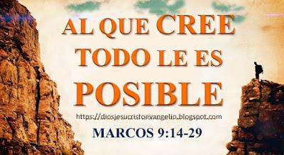 Al Que Cree Todo Le Es Posible: Puedes Creer En Dios?