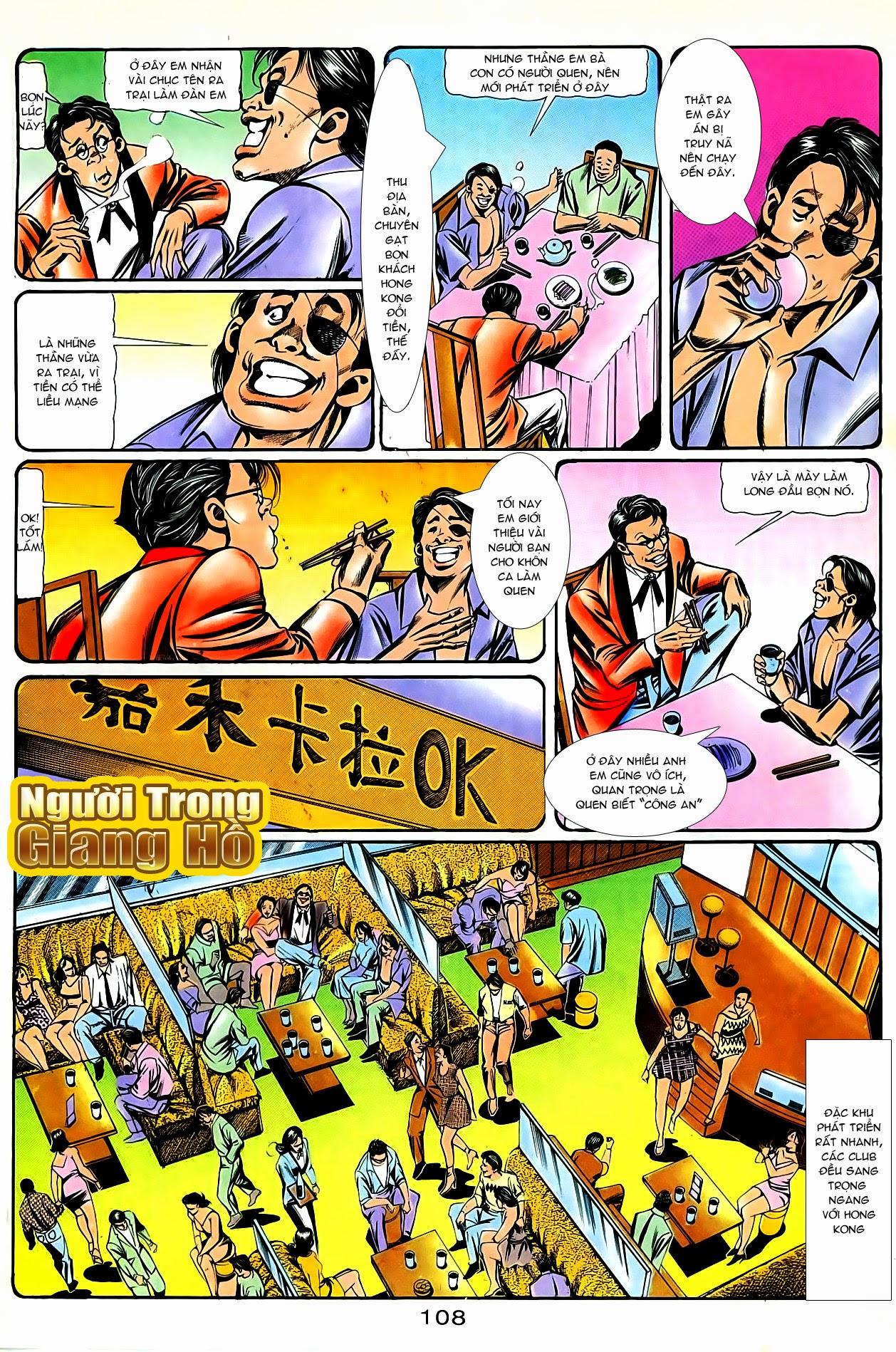 Người Trong Giang Hồ chapter 87: chống lưng của a khôn trang 22