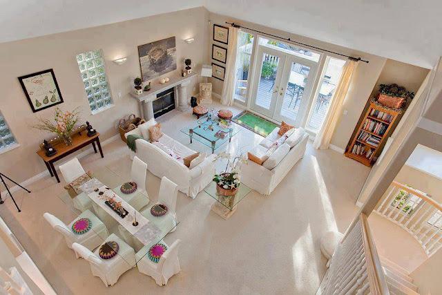 Construindo minha casa clean: ambientes com pé direito duplo e ...