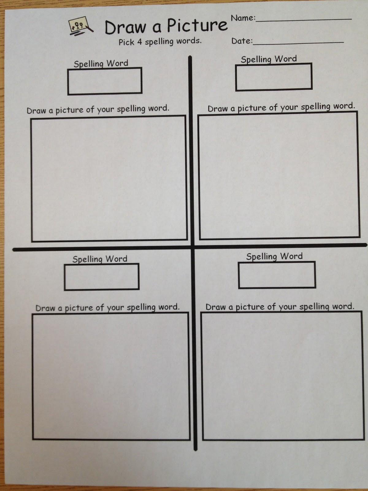 Autism Tank Spelling Worksheets