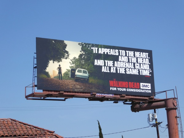 Walking Dead season 6 Emmy fyc billboard