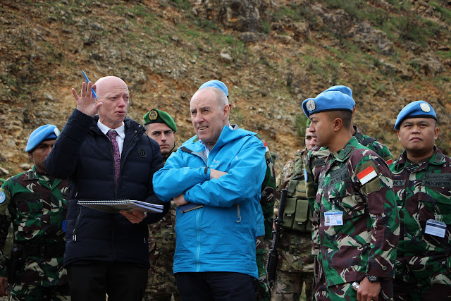 Daerah Operasi Pasukan Garuda Indobatt di Lebanon Mendapat Perhatian Dunia