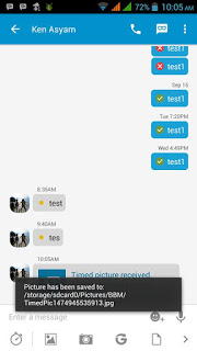 BBM MOD With Save Timed Picture v3.0.1.25 APK Terbaru