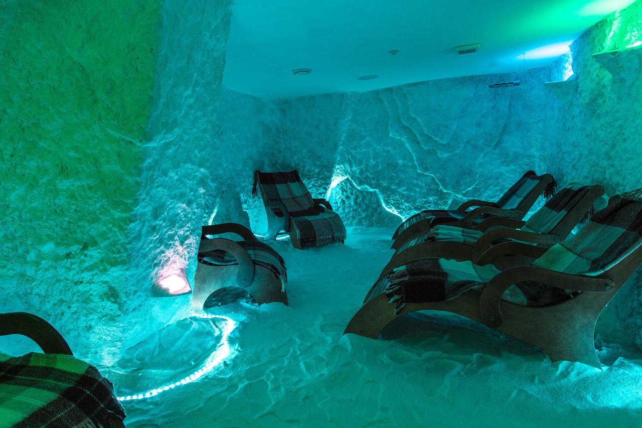 Соляная пещера в санатории Ай-Даниль в Гурзуфе