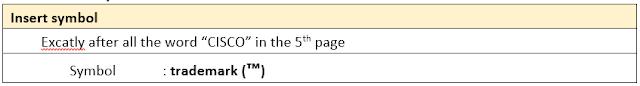 Task 9 – Insert Symbol