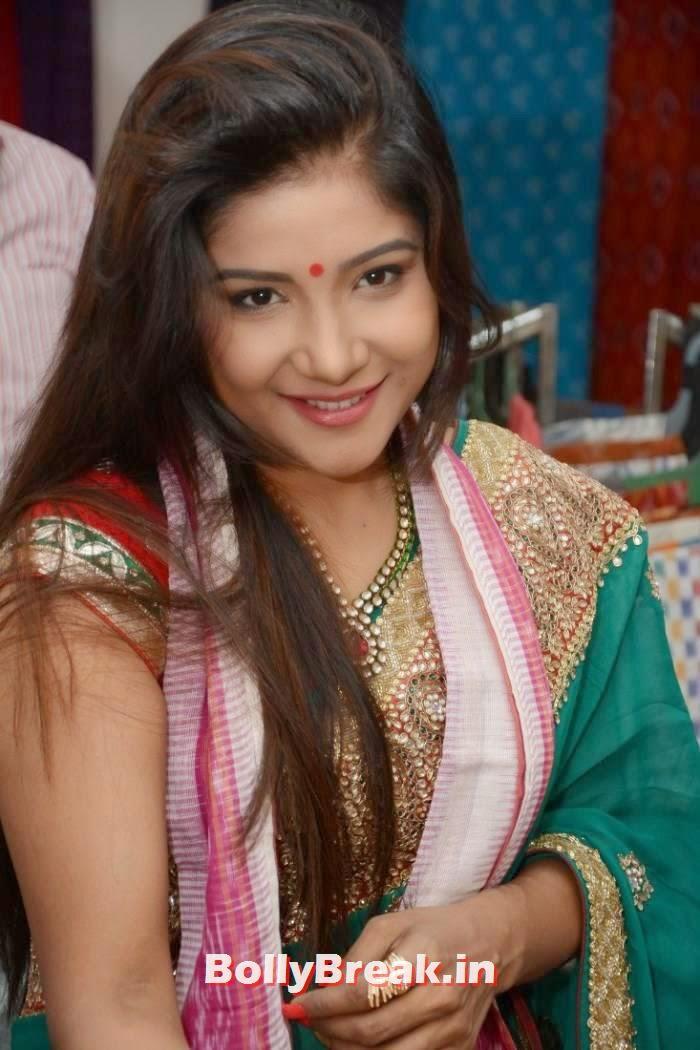 Sakshi Agarwal Photos, Sakshi Agarwal Hot Hd mages in Green Saree