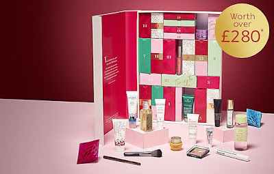marks and spencer £35 beauty advent calendar