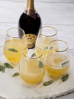Ginger Sage Cocktail Drink Recipe