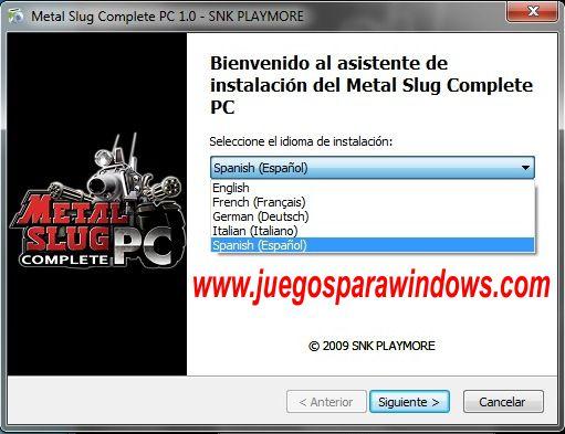 metal slug complete PC Collection Imagenes