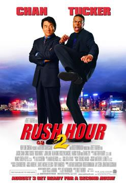 Poster of Rush Hour 2 (2001) 720p Hindi BRRip Dual Audio Full Movie Download