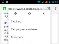 Cara Hapus Riwayat Jelajah Penelusuran Google chrome di Hp android
