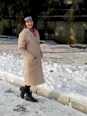 пальто over size, женское пальто
