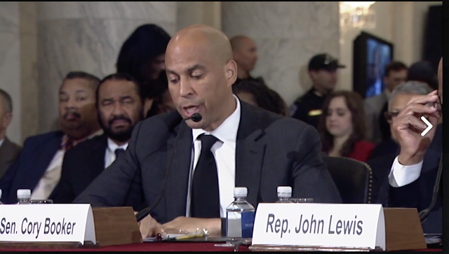 John Lewis and Corey Booker testify against Jeff Sessions
