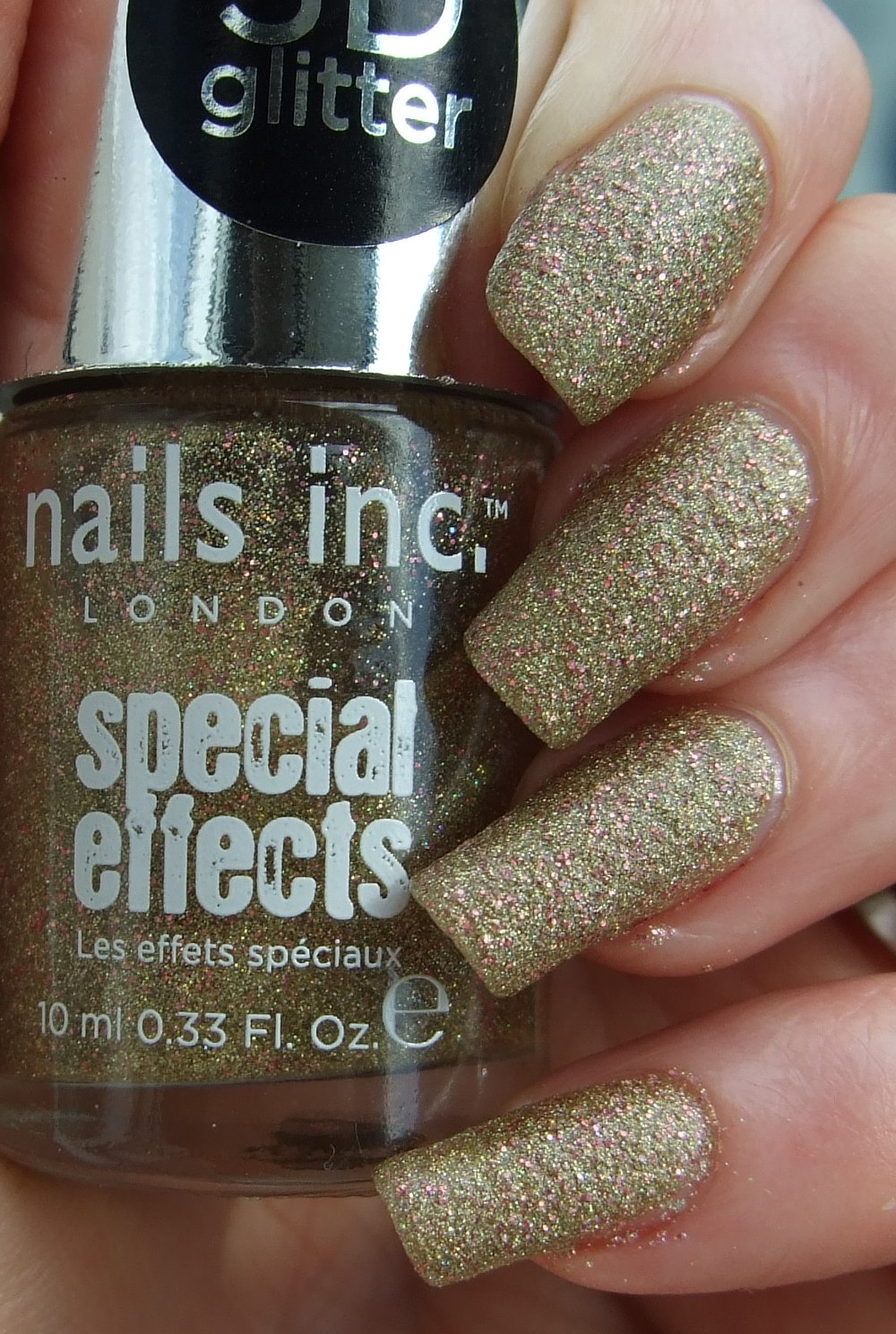 Polishtopia: Nails Inc - Special Effects 3D Glitter - Bedford Square