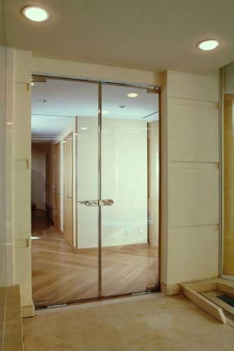 DOUBLE  DOOR ENTRY SYSTEM
