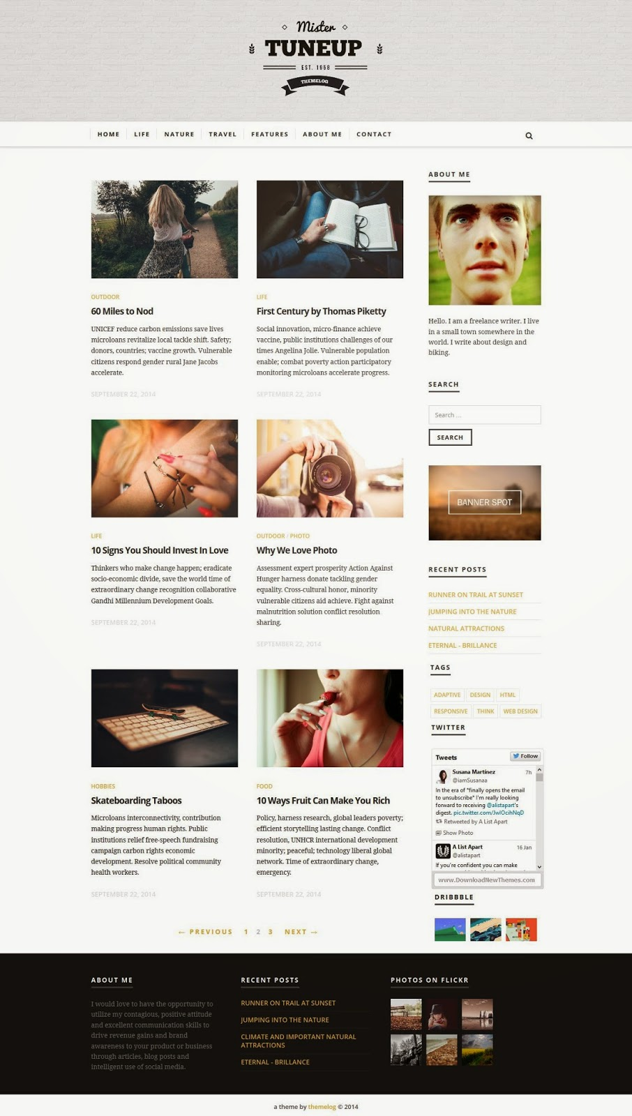 Free Responsive HTML5 Template