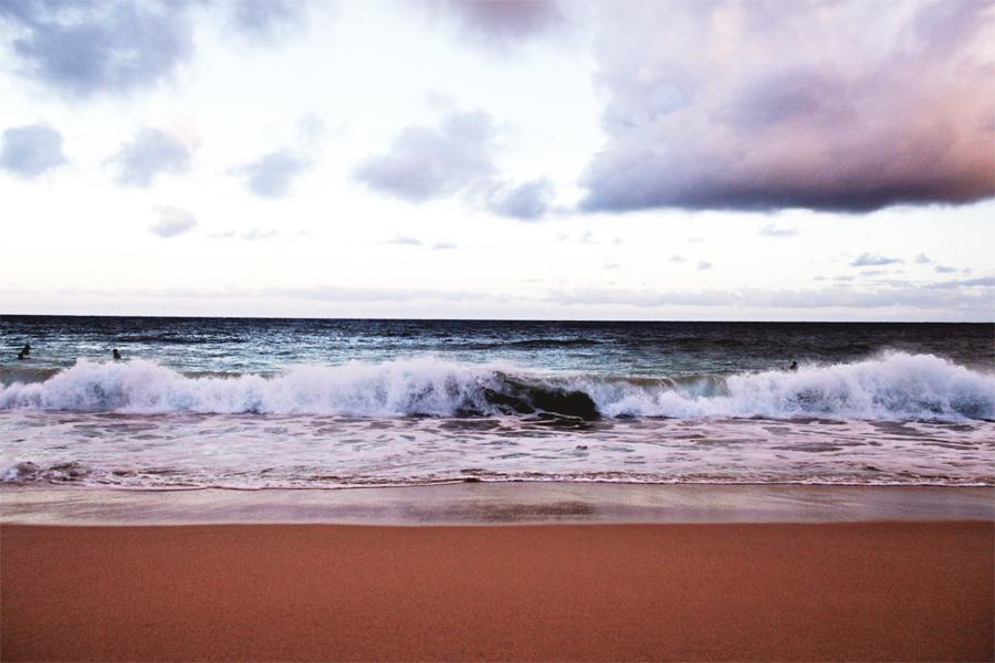 ozean gedanken strand hawaii