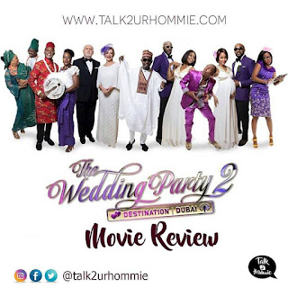 cover picture of The Wedding Party 3, Destination Dubai, movie review