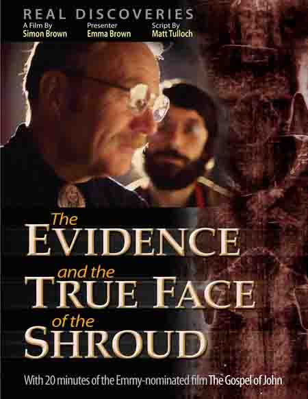 FREE DVD film Shroud of Turin. By Simon Brown.