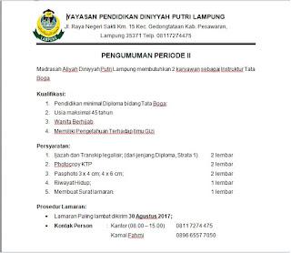 Madrasah Aliyah Diniyyah Putri Lampung
