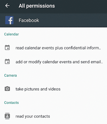 Facebook Permission Details Explained