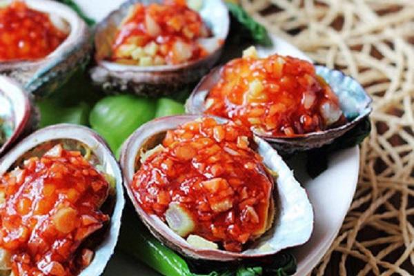 Nguyên liệu món sốt bào ngư Úc chua cay