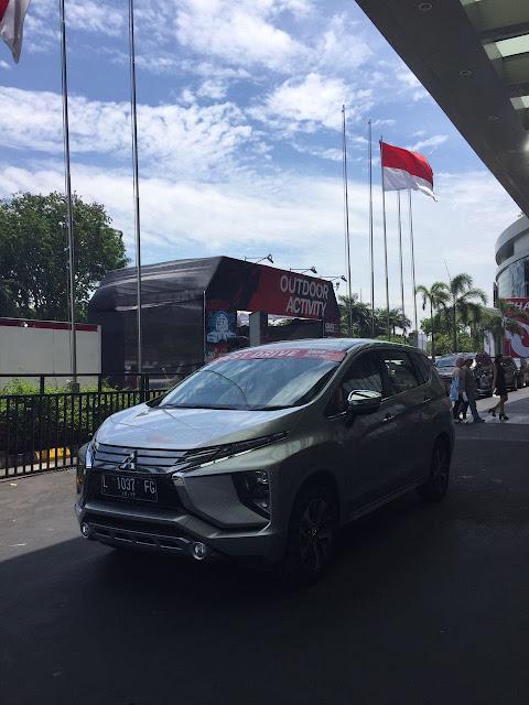 Test Drive Xpander GIIAS Surabaya