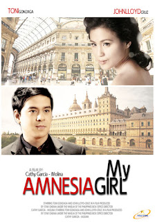 My Amnesia Girl is a 2010 Filipino romantic film starring John Lloyd Cruz and Toni Gonzaga.
