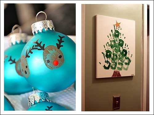 Merry christmas poems christmas crafts for children for Arts and crafts christmas decoration ideas