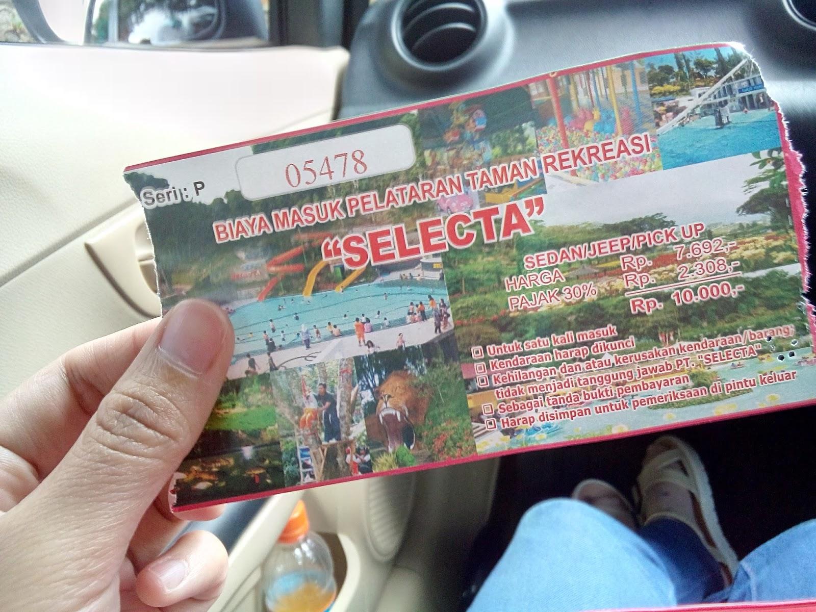 Selecta Batu Malang Coretanku