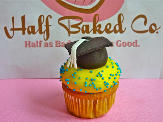 Half Baked Co. Graduation Cupcakes