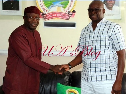 Fayose Congratulates Fayemi On His Emergence As NGF Chairman