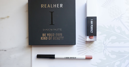 I Am Awesome, Unique, Strong, Perfect... with RealHer Cosmetics