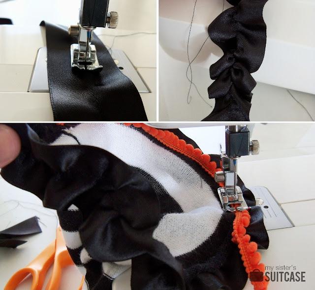 making halloween socks