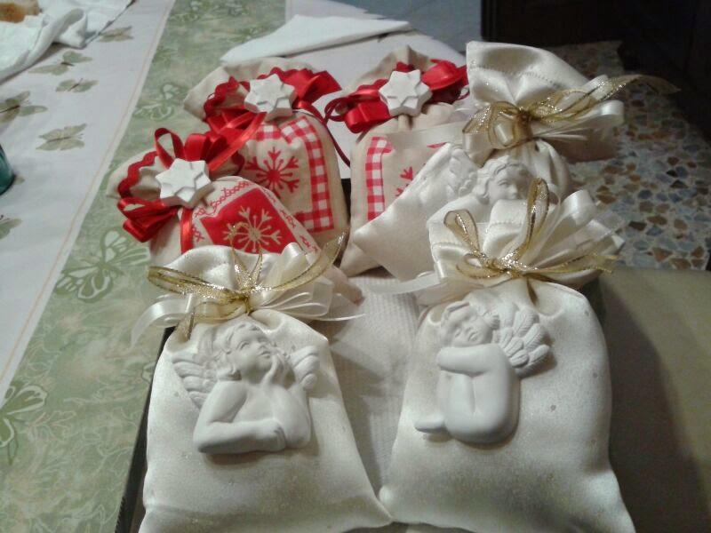 Eccezionale Capricci di Fate: Tutorial sacchetti natalizi con gessetti profumati RN49