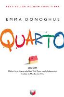 Capa do livro Quarto da Emma Donoghue