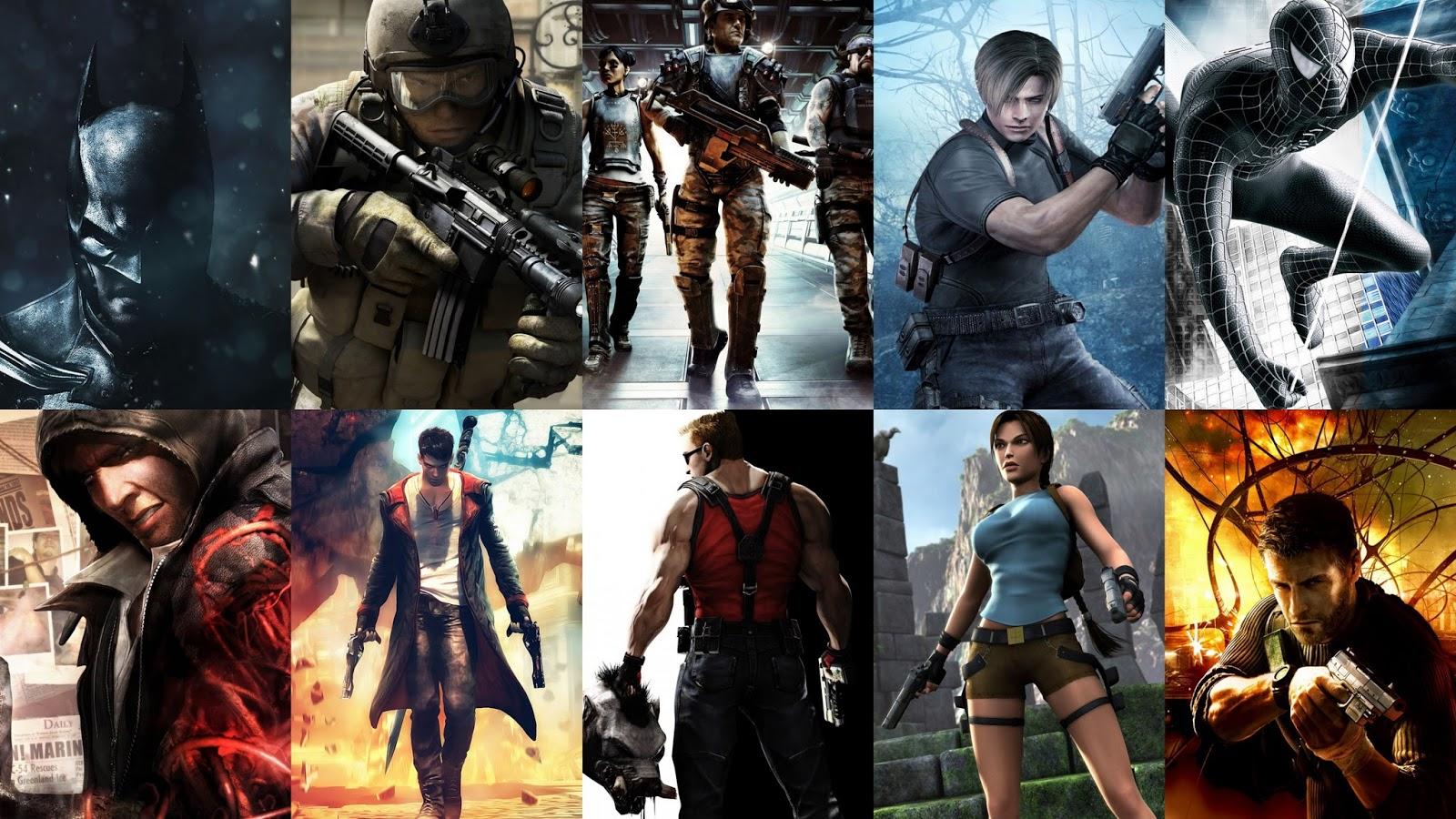 Desktop Background: Games Wallpapers Hd Pack Download