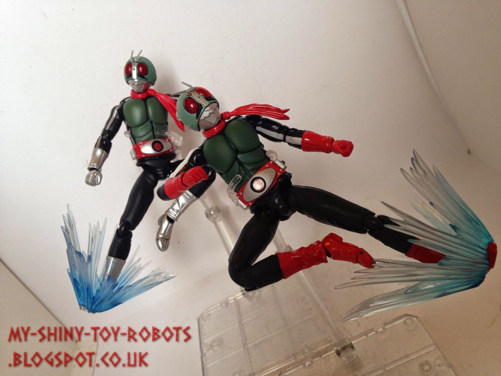 Double Rider kick!
