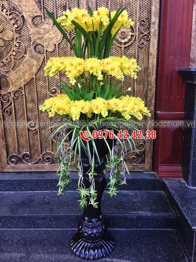 Hoa da pha le o pho Hang Chieu