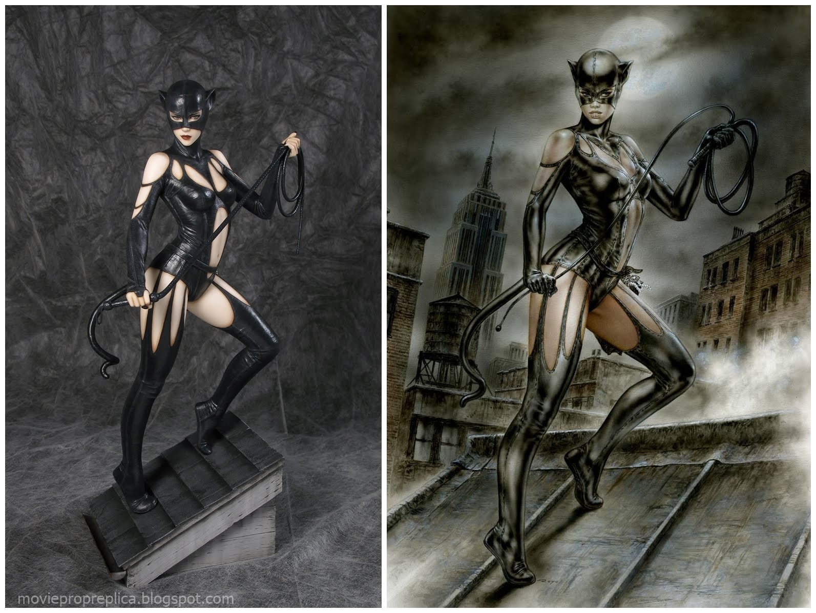 Catwoman by Luis Royo Statue