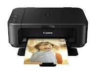 Canon PIXMA MG2250 est une imprimante tout-en-un dotée de la technologie jet d'encre qui vous aide à imprimer des documents et des photos avec le système d'encre hybride