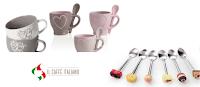 Logo Tazze e cucchiaini omaggio con Il Caffè Italiano