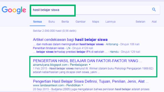 cara agar postingan blog muncul di google - Teknoid