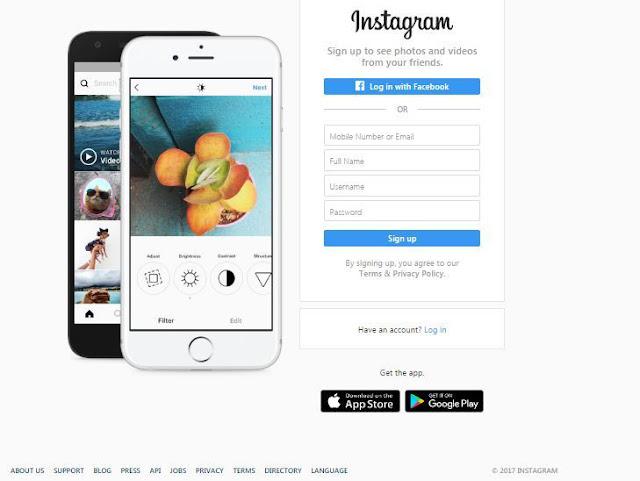 Cara Membuat Akun Instagram di PC dengan Cepat  dan Mudah 2