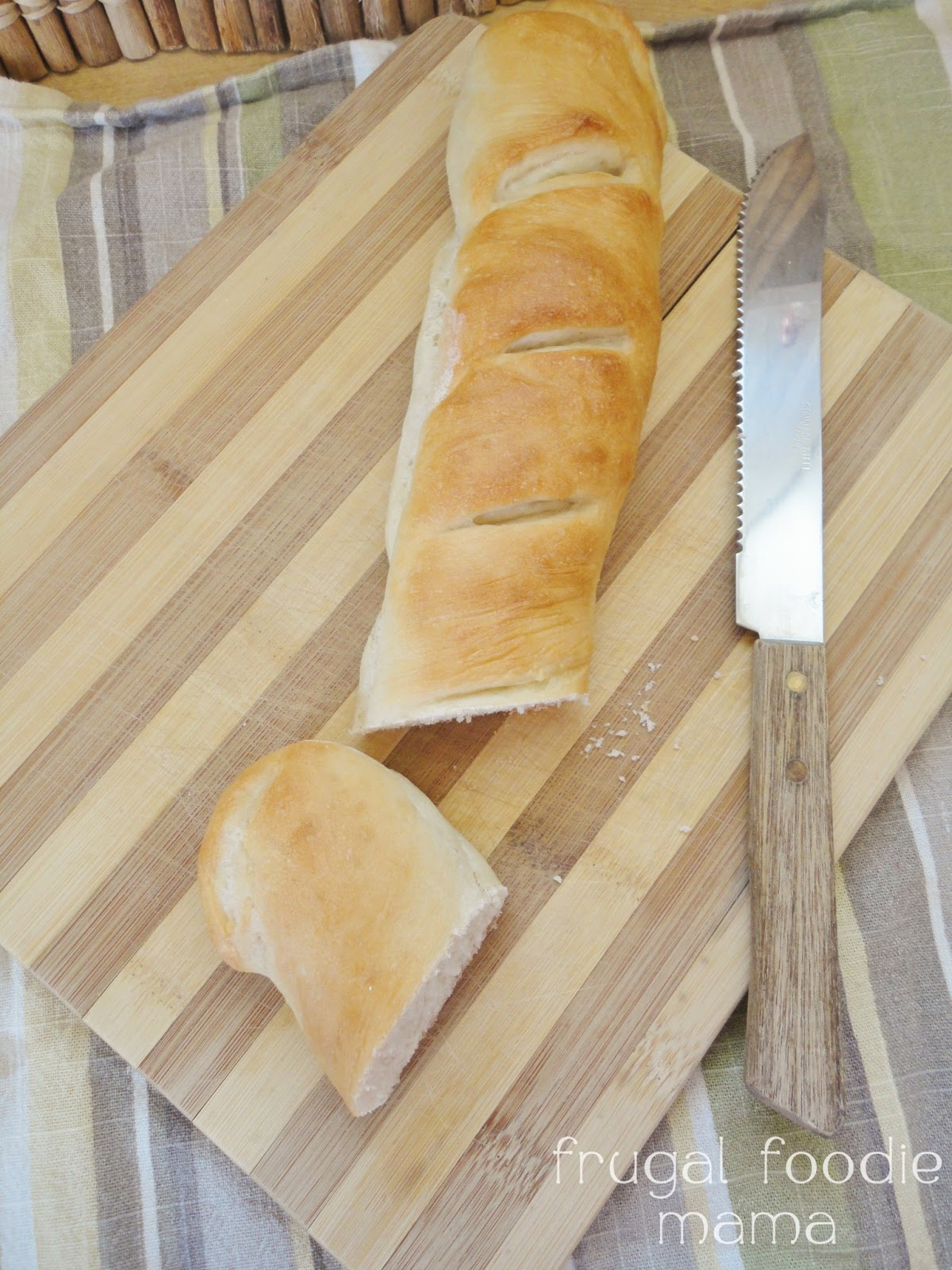 Frugal Foodie Mama: Bread Machine Start Homemade French ...
