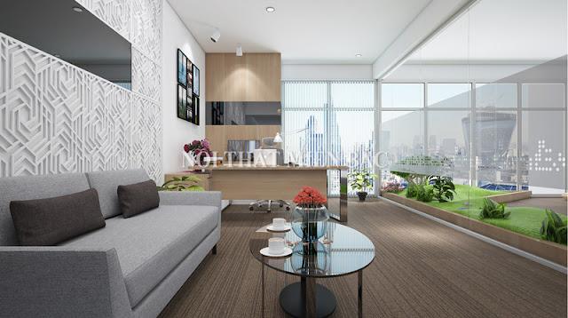 Đối với thiết kế phòng giám đốc nữ giới thì các nội thất cần có thêm sự tinh tế và thanh lịch