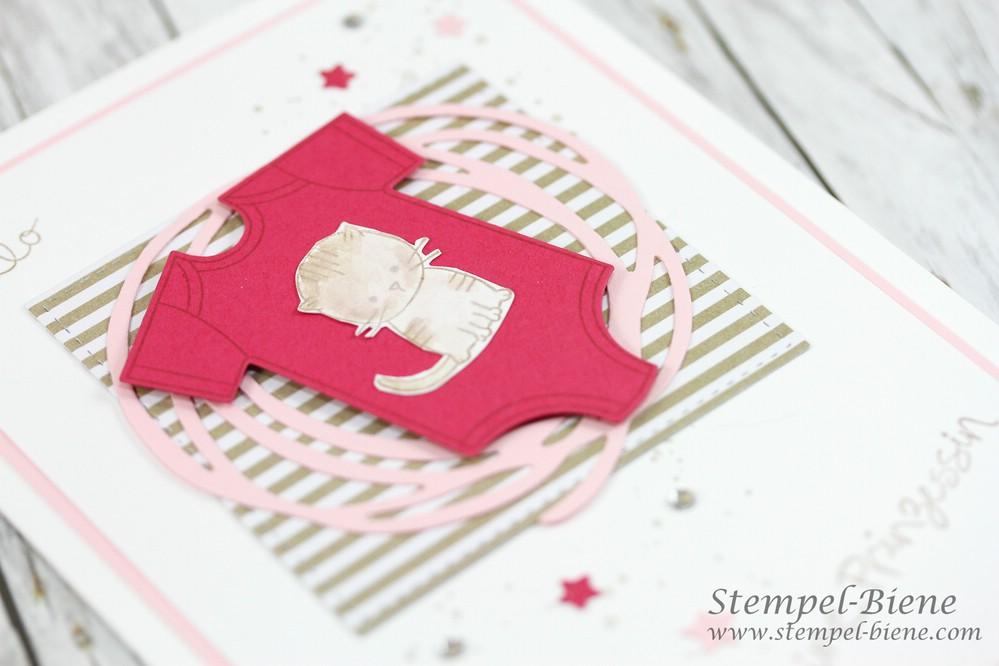 Babykarte rosa Kleine Prinzessin