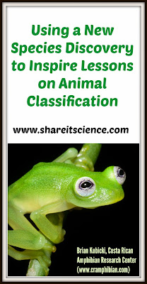 real life kermit animal classification lessons preschool through high school