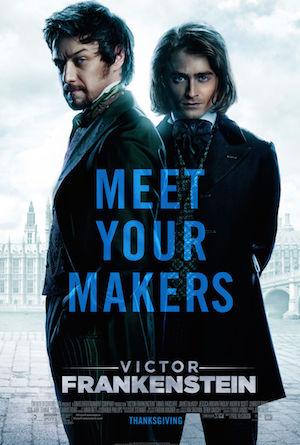 Poster Victor Frankenstein 2015
