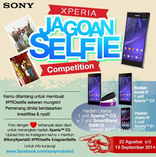 Jagoan Selfie Competition Berhadiah 3 Sony Xperia